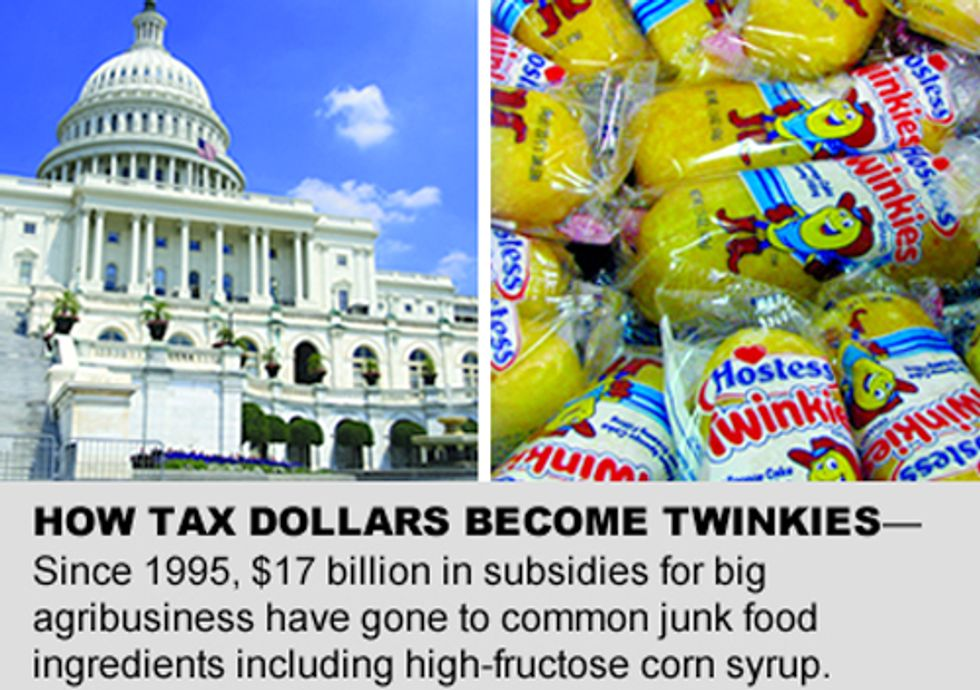 How Your Tax Dollars Become Twinkies