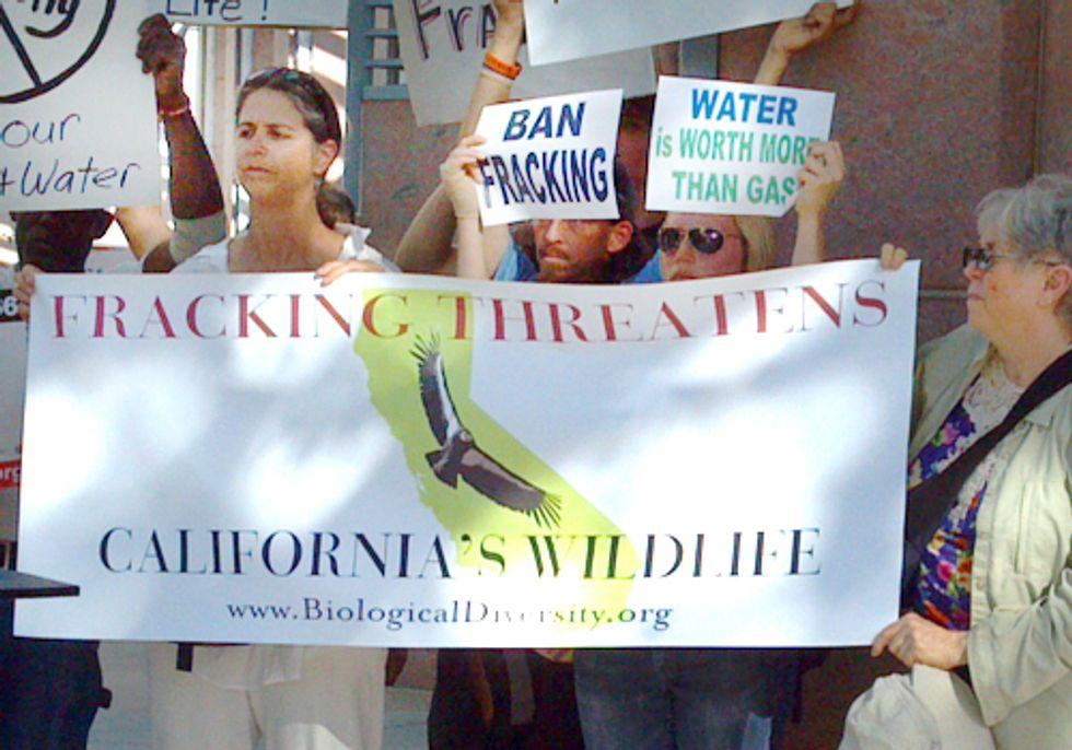 Californians Urge State Regulators to Ban Fracking