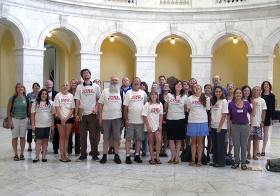 Stop the Frack Attack Lobby Day