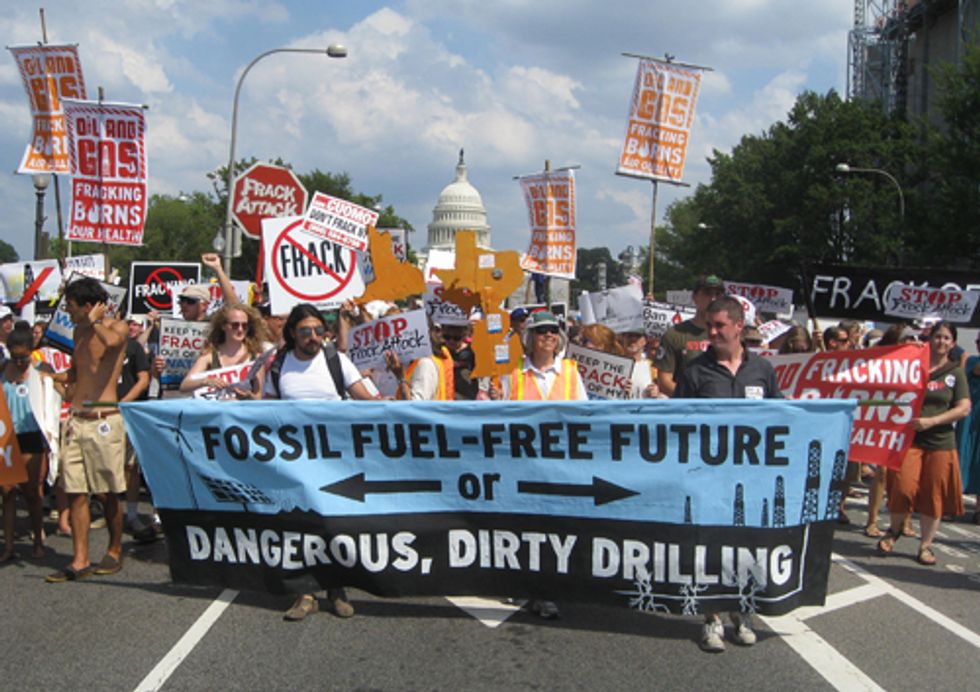 5,000 People Unite in DC to Protest Fracking