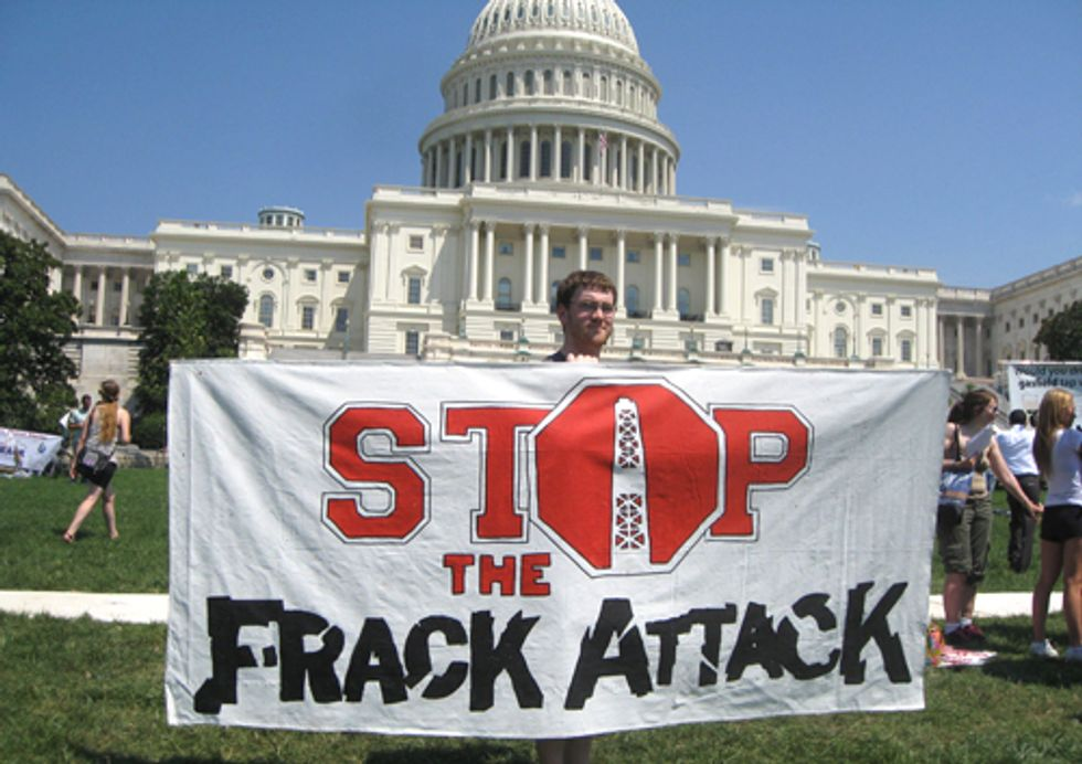VIDEO: Stop the Frack Attack Rally and March