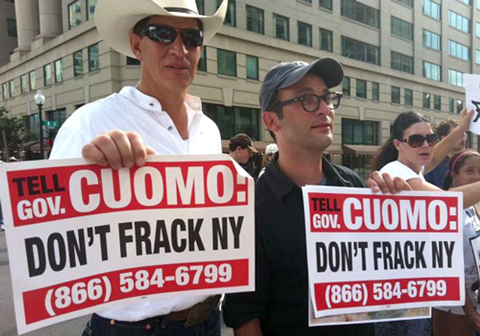 National Anti-Fracking Rally Hones in on Gov. Cuomo's Decision in New York