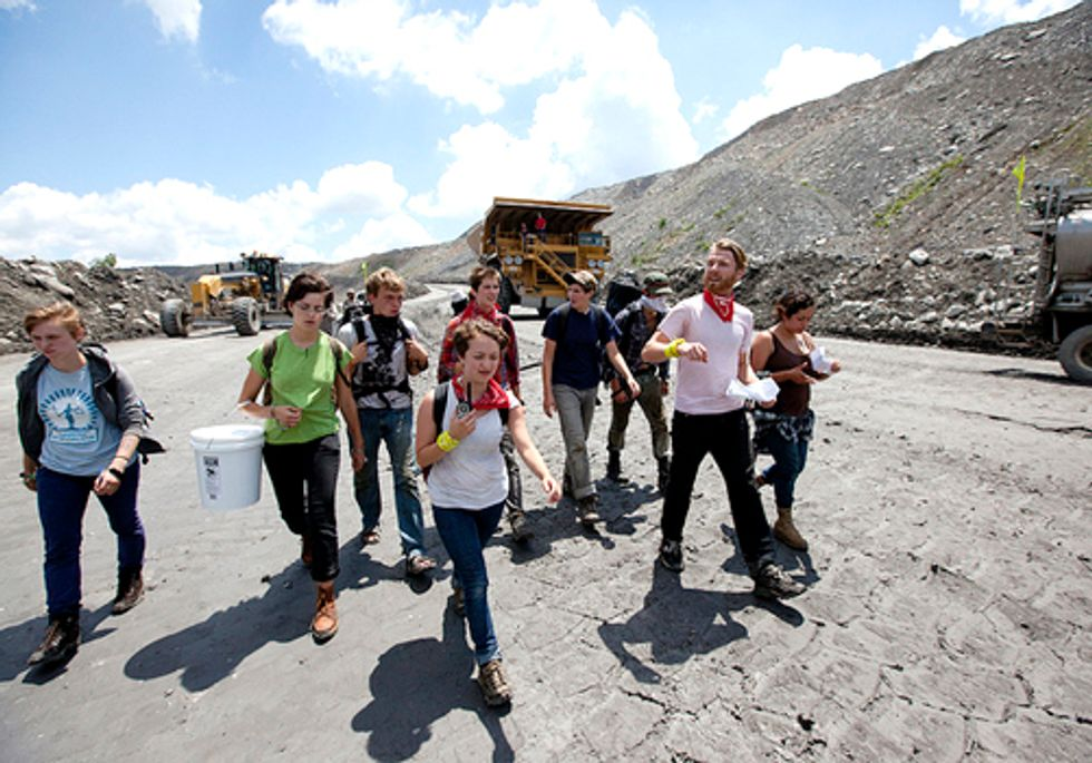 VIDEO: Historic Shutdown of Mountaintop Removal Coal Mining Site