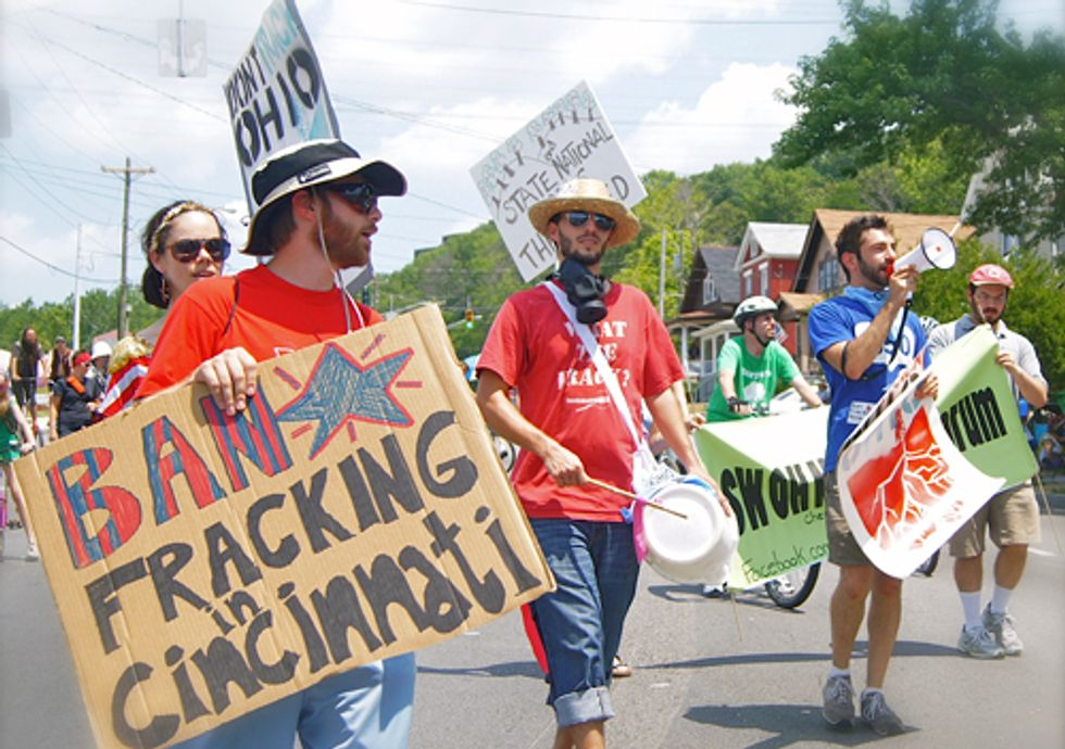Cincinnati Becomes First Ohio City to Ban Fracking Injection Wells