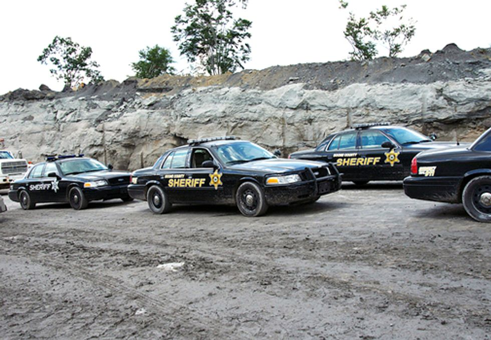 Police Brutality During Mountaintop Removal Protest Prompts Call to U.S. Attorney