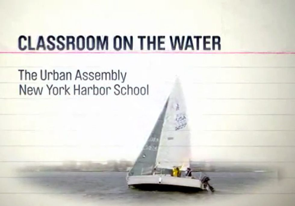 Innovative School Restores Education and the New York Harbor