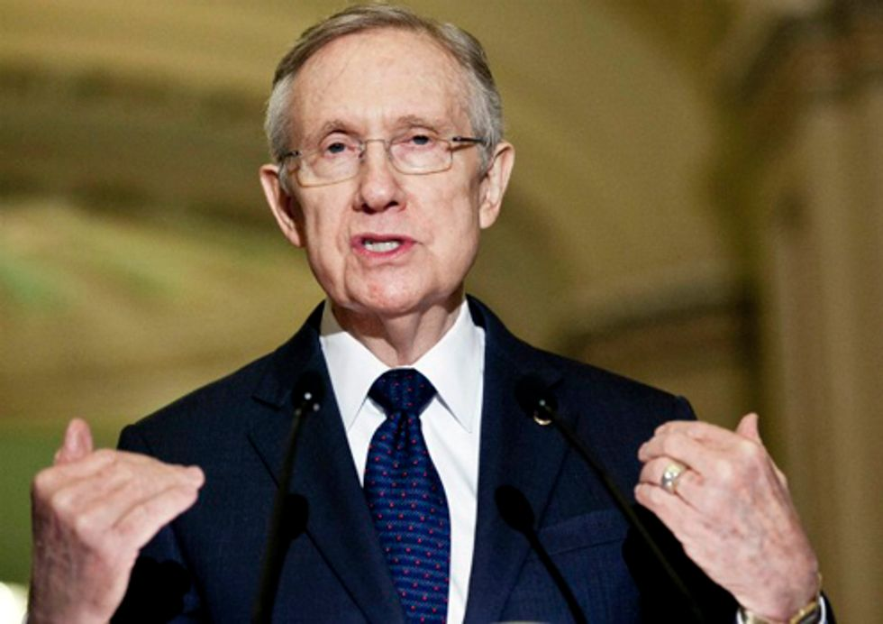 Senator Reid: It's Time to Stop Acting Like Climate Change Deniers Have a Valid Point Of View