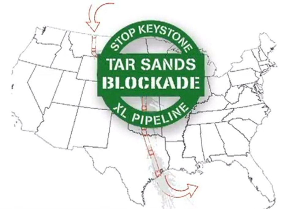 Don't Mess with Texas' Tar Sands Blockade