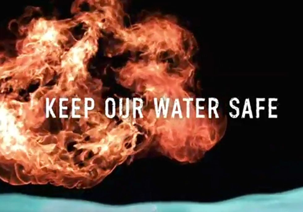 TV Ad Challenges Fracking Industry