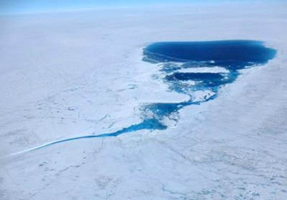 Media Turns a Blind Eye to Record Greenland Ice Melt