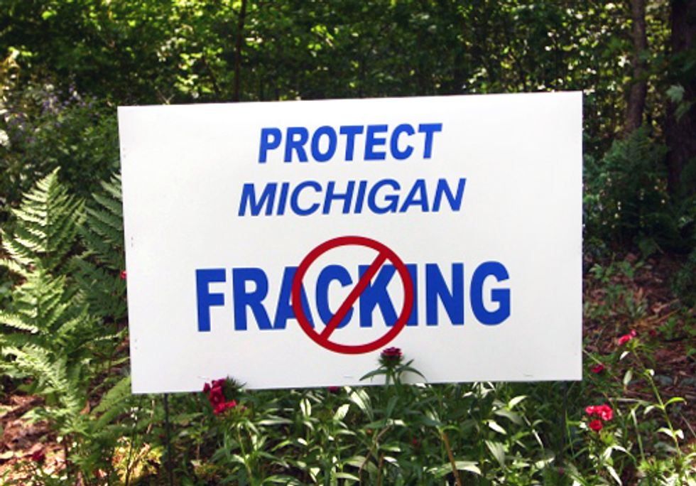 Amending Michigan's Constitution to Ban Fracking