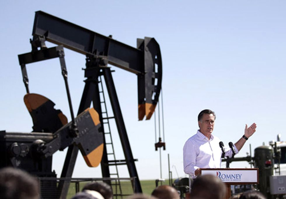 Romney's Energy Plan will Increase Fossil Fuel Dependence at the Expense of Renewables