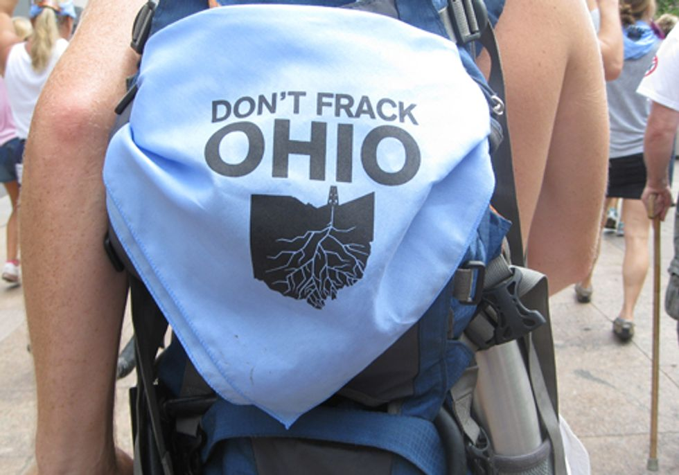 Communities Across Ohio Take Action for Local Control Over Fracking Industry