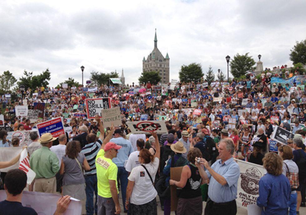 1,000+ March to NY Capitol Telling Cuomo 'Don't Frack NY'