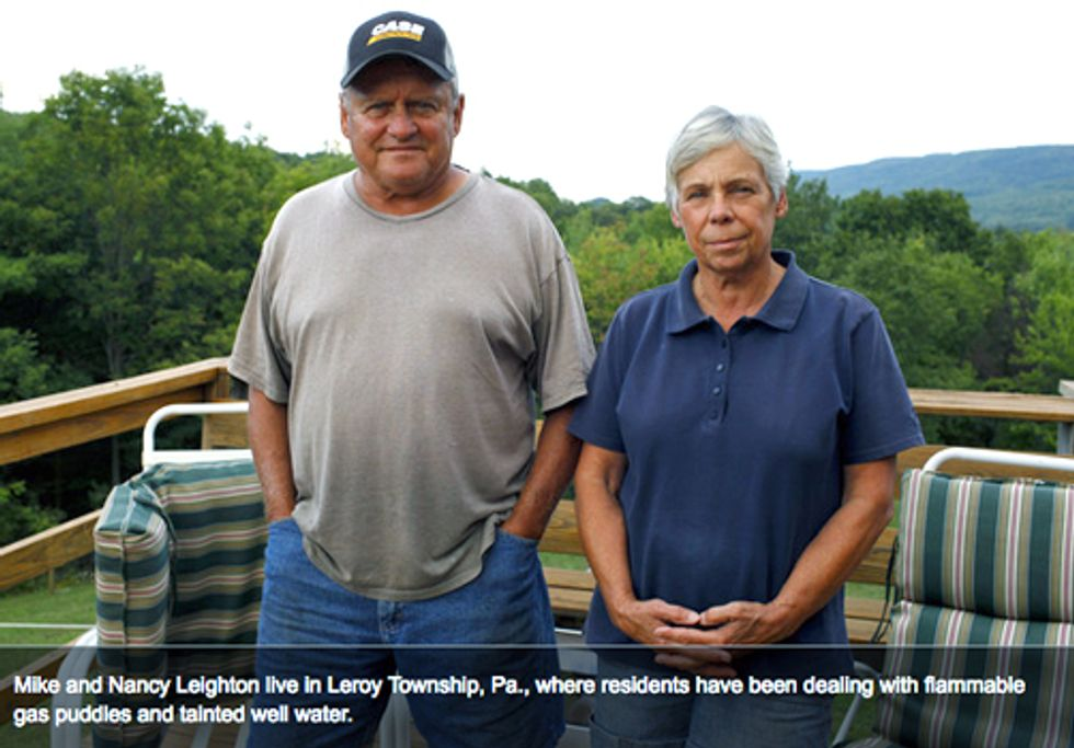 Despite Industry Claims, Methane from Frack Wells Contaminates PA Water Supplies