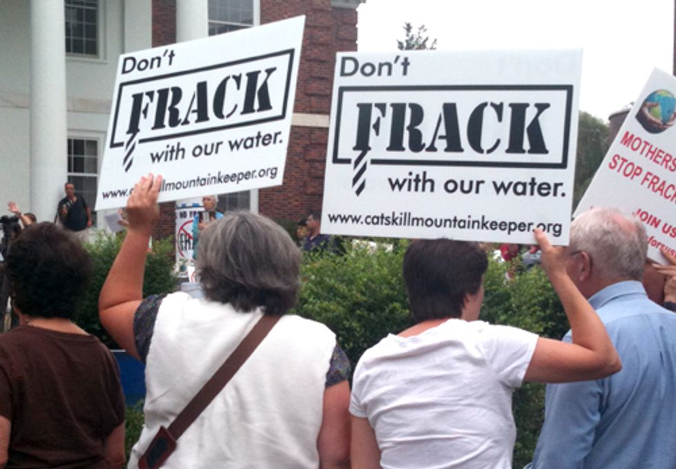 Concerned Citizens Unite to Oppose Fracking in NY