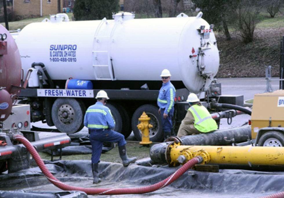The Water Footprint of Shale Gas Development