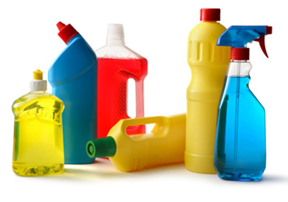 How Safe Are Your Cleaning Products?