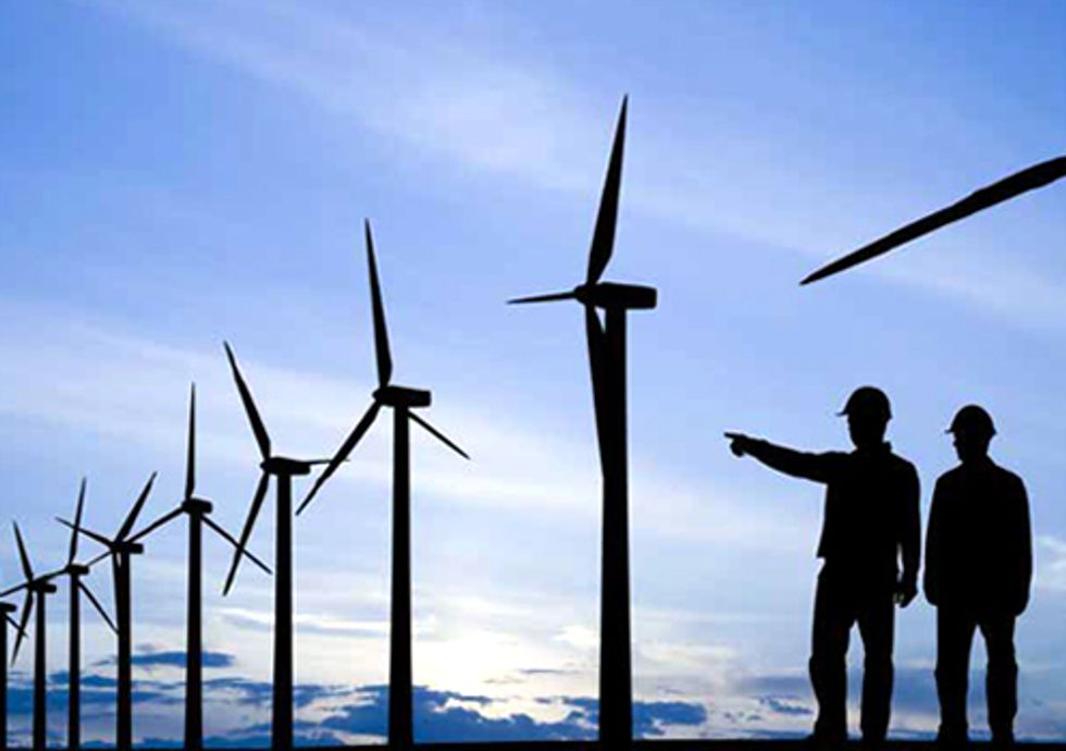 Wind Power = Clean Energy Future