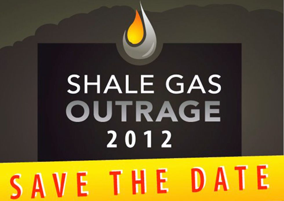 Shale Gas Outrage Rally and March in Philadelphia Sept. 20