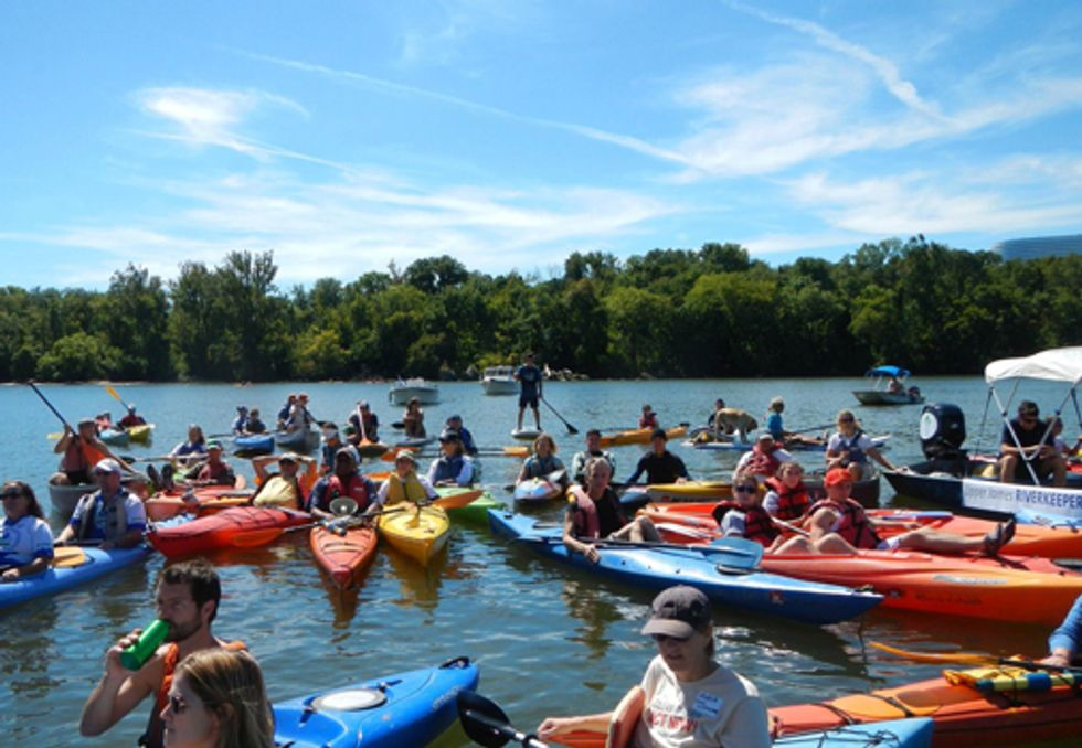 Waterkeepers Paddle for 40th Anniversary of Clean Water Act