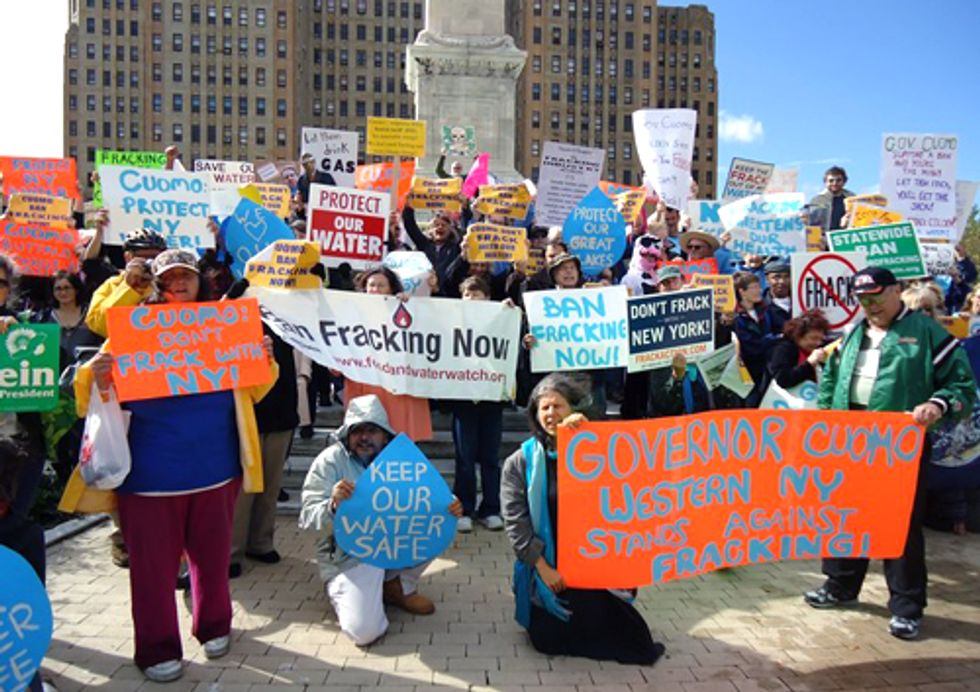 Protests Against Extreme Fossil Fuel Extraction Continue into Fall with Global Frackdown