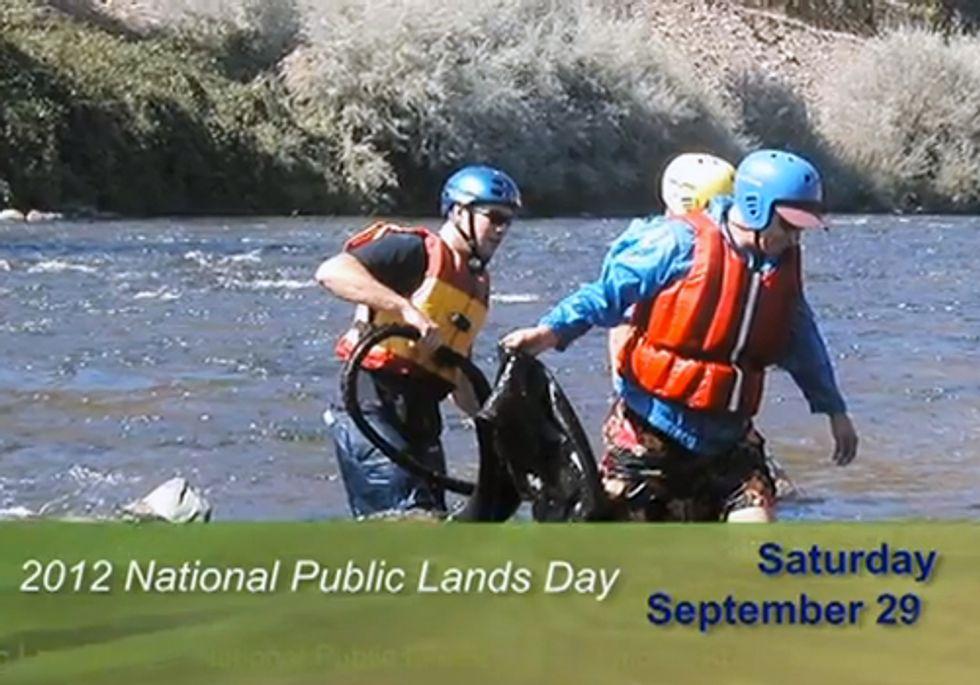 National Public Lands Day Sept. 29