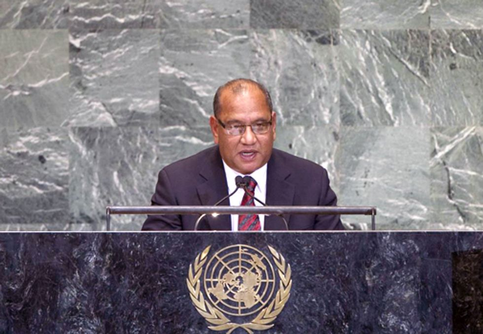 Pacific Islands States Call for Urgent Action on Climate Change at UN General Debate