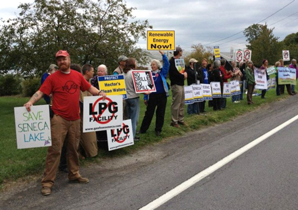 New Yorkers Call on Gov. Cuomo to Save Seneca Lake from LPG Fracking