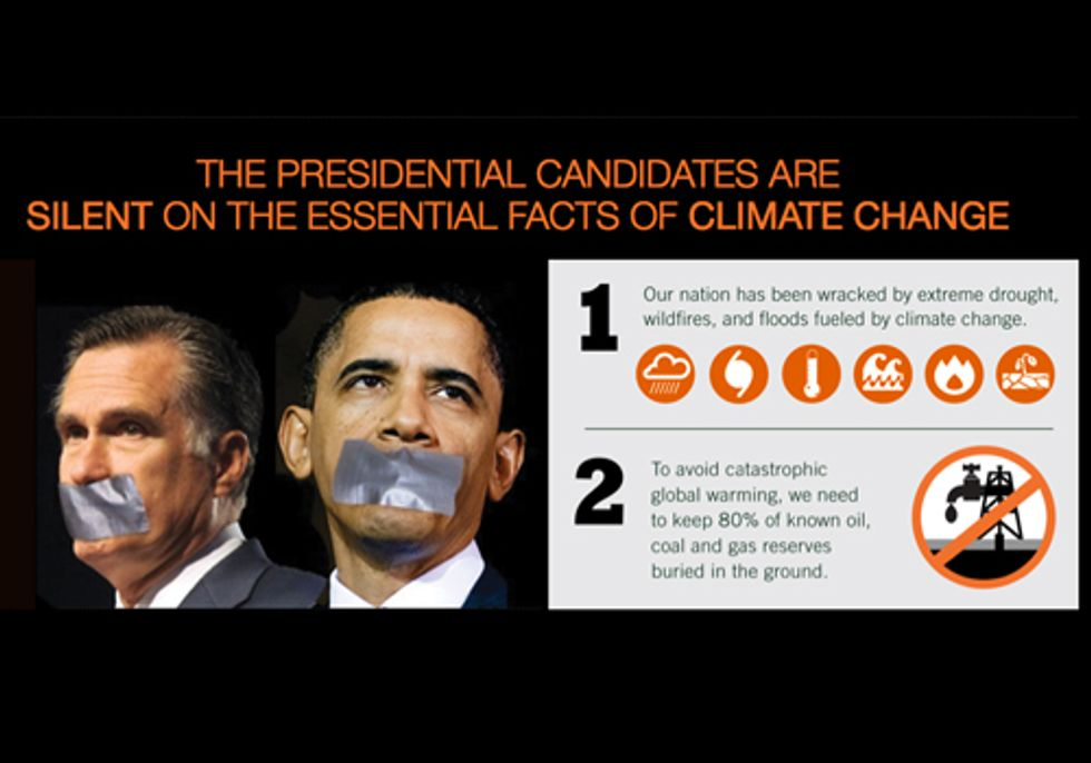 New Website Demands Obama, Romney Address Climate Change