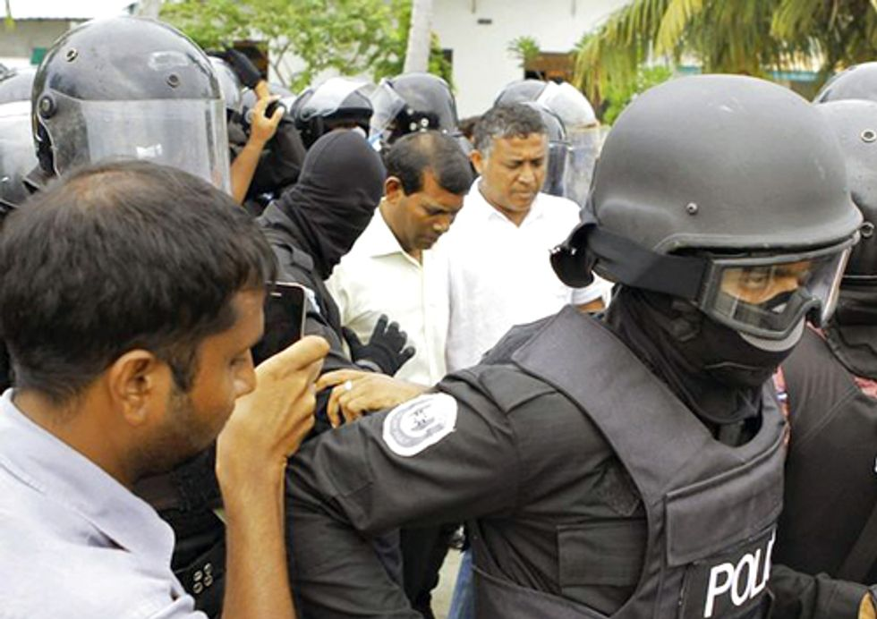 International Human Rights and Climate Change Activist Mohamed Nasheed Arrested