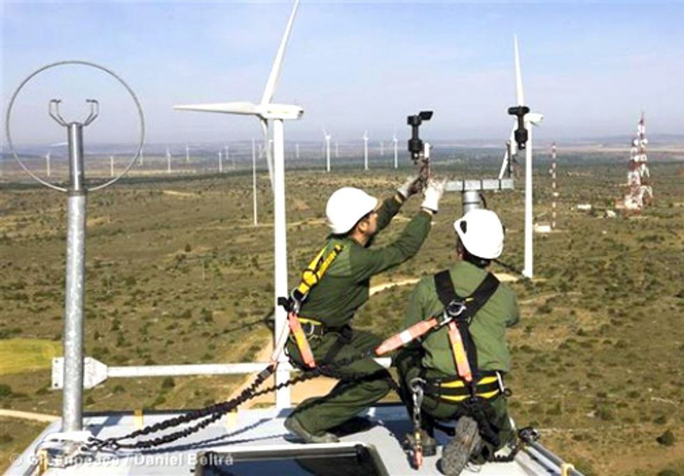 Record Wind Power Generation in Spain