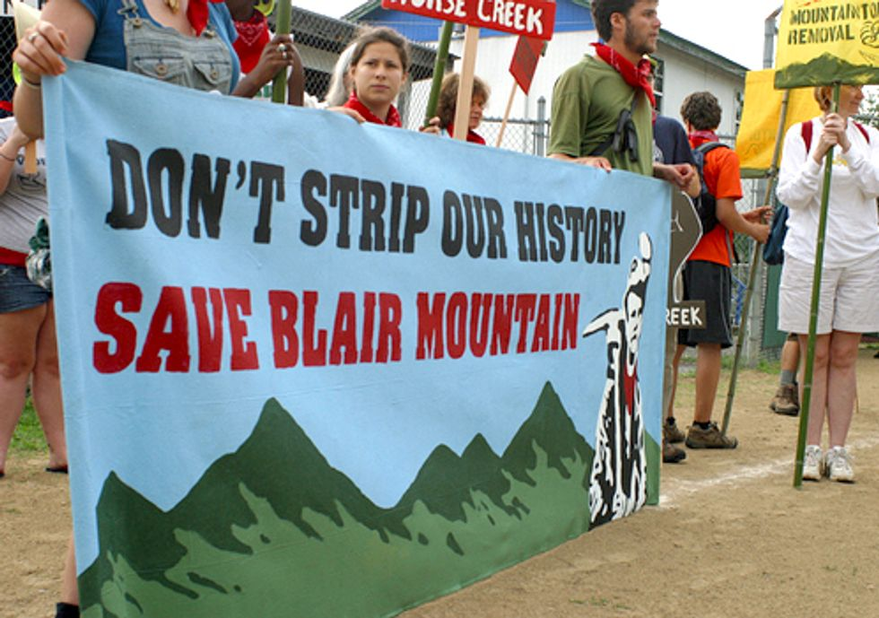 Big Coal Wins Latest Battle to Blast Historic Blair Mountain