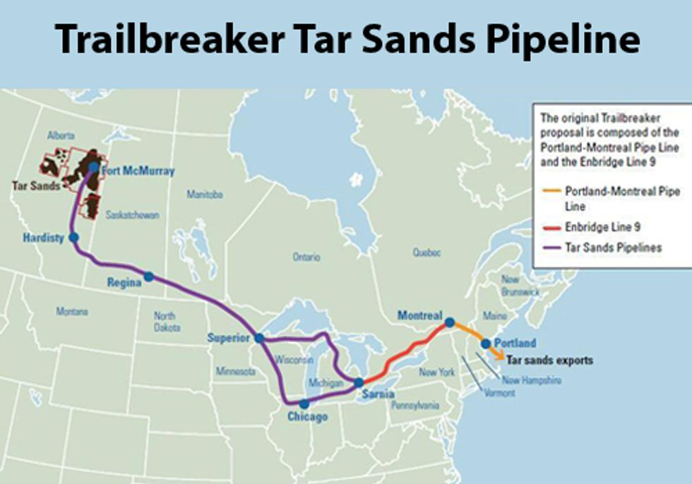 Watch Out New England, Tar Sands Pipeline Headed Your Way