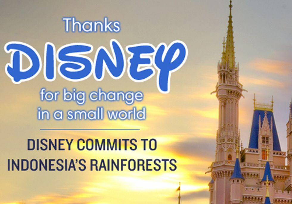Disney Commits to Protecting the Earth's Real Magic Kingdom