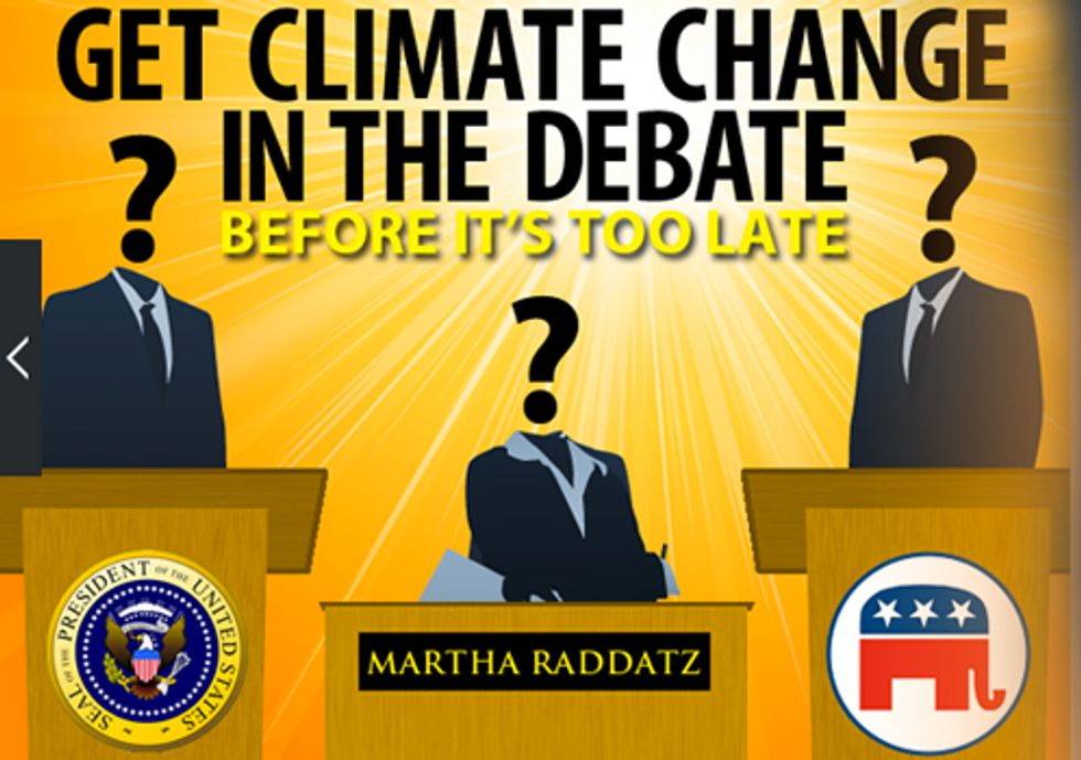 UN Warns of Food Shortages Worldwide, Pres. Candidates Remain Mum on Climate Change