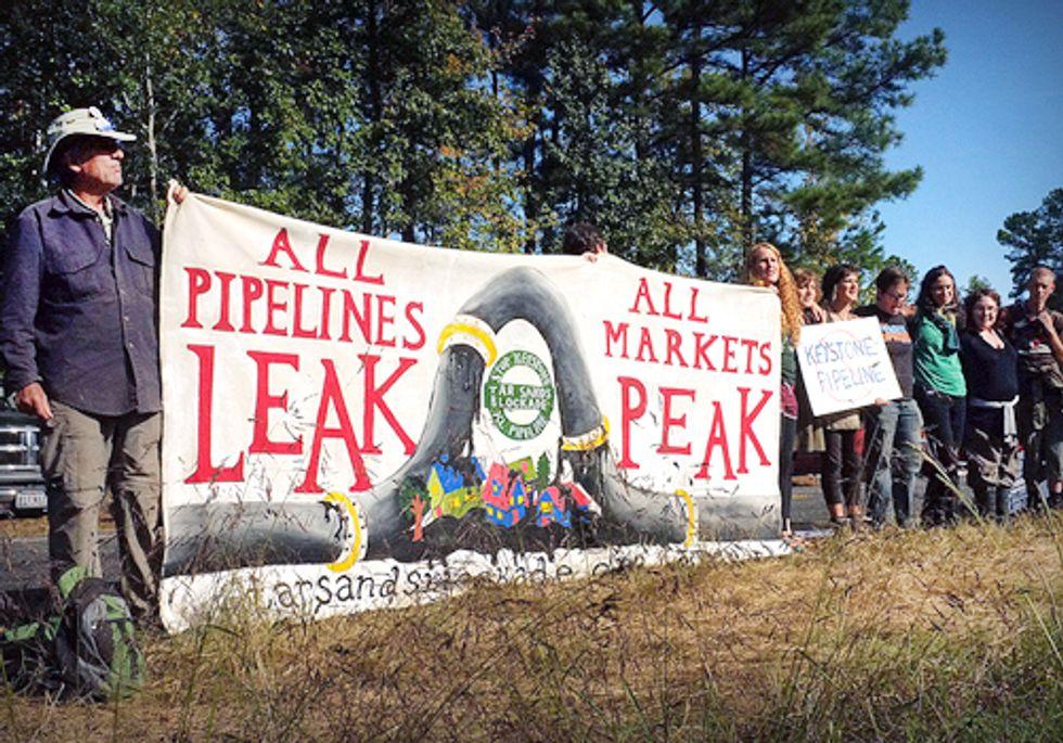 Keystone XL Pipeline Historic Standoff Continues