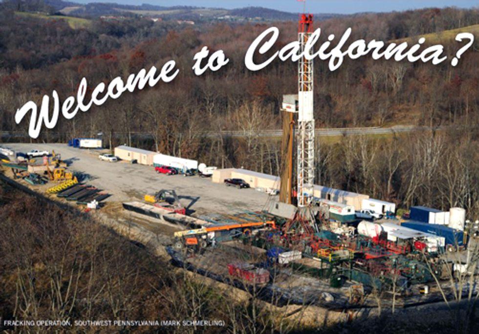 Fracking California