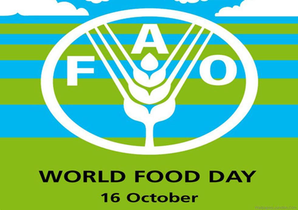 Fuel for Thought on World Food Day