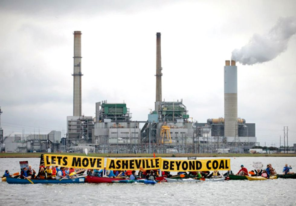 Coal Plant Scrubbers Increase Water Contamination in Local Waterways