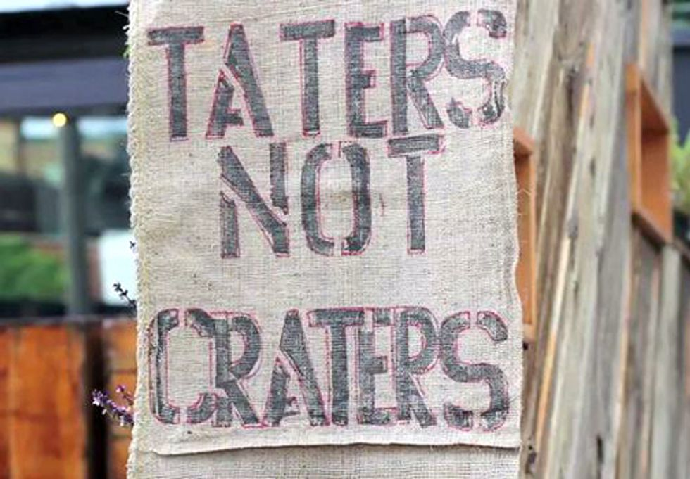 Taters Not Craters: Industrial Development vs. Fertile Farmland