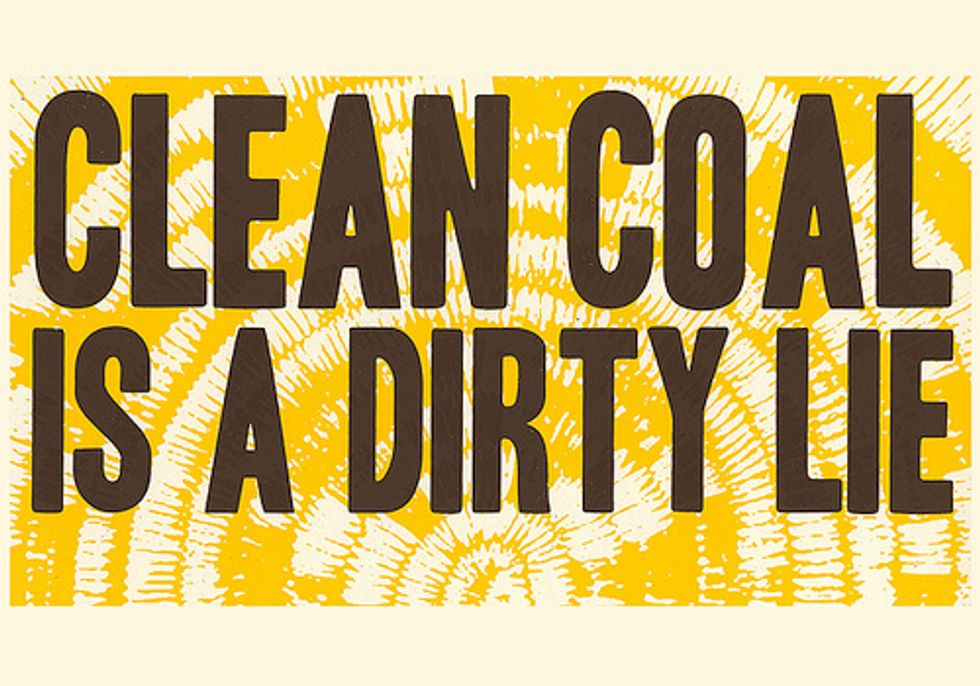 Clean Coal is a Hoax, Mr. President, So Drop It
