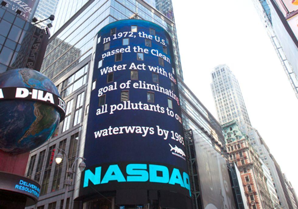 NASDAQ Salutes the Work of Waterkeeper Alliance and Robert F. Kennedy, Jr.