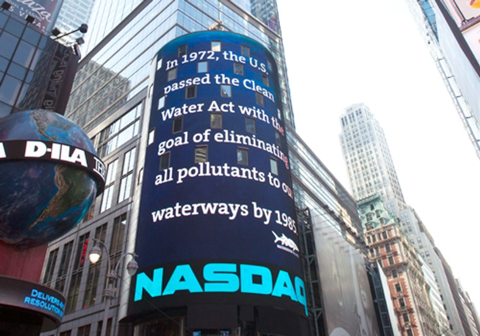 NASDAQ Salutes the Work of Waterkeeper Alliance and Robert F. Kennedy, Jr.