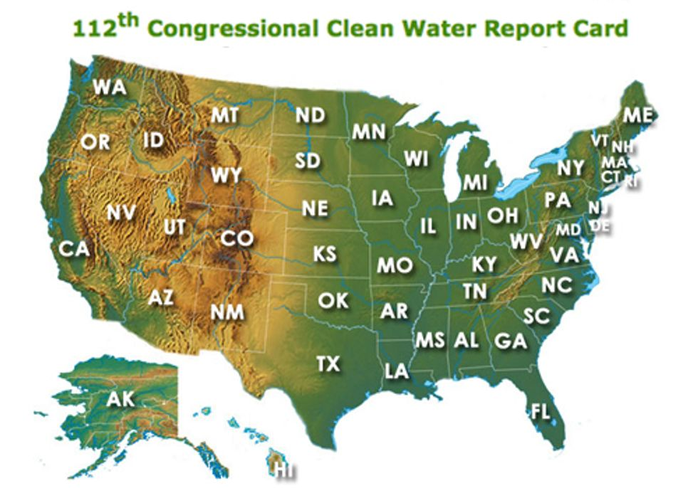 Does Your U.S. House Rep. Support Clean Water?