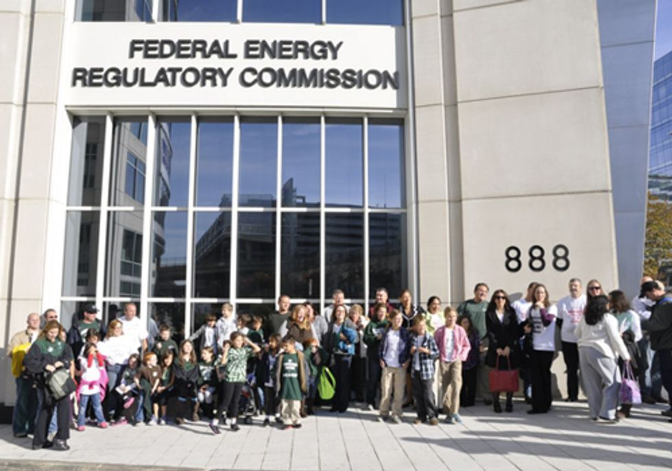 Minisink Residents Protest in DC Againist Compressor Station