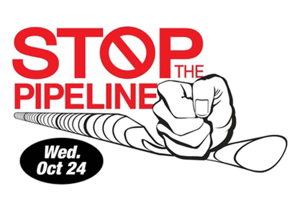 Pipelines = Fracking: Stop the Constitution Pipeline