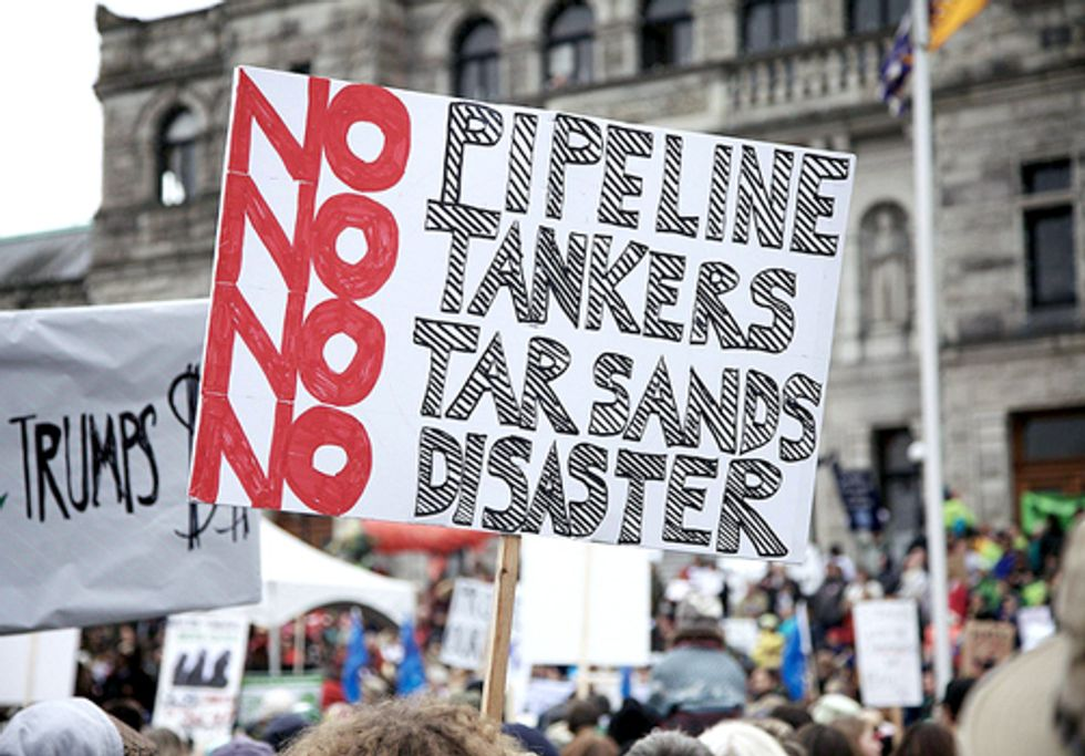 Thousands Say No to Northern Gateway Pipeline