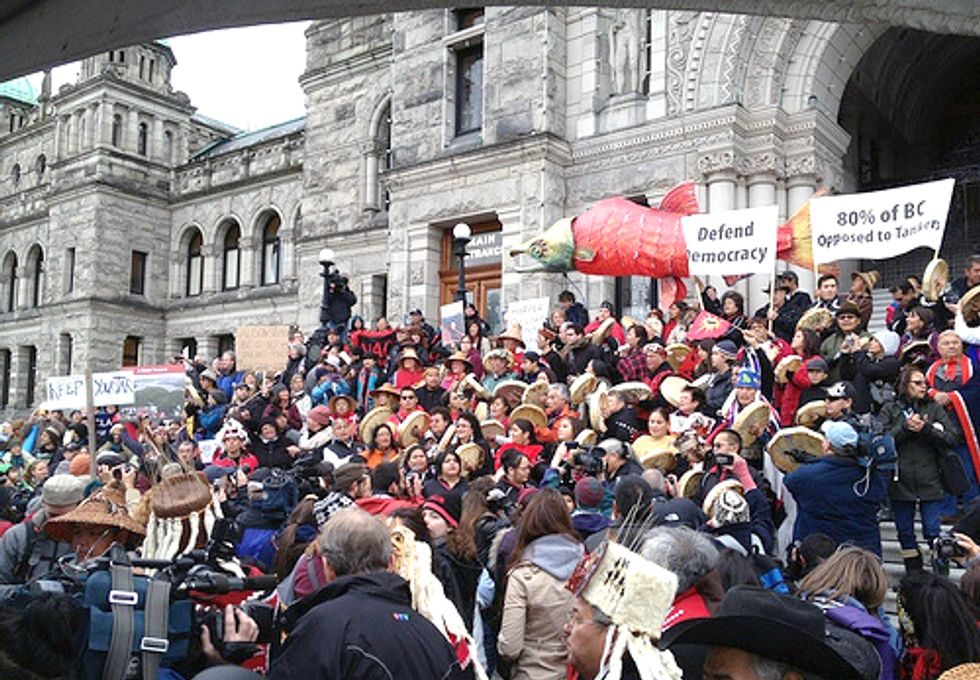 Canadian Government Continues to Choose Dirty Energy Over Democracy