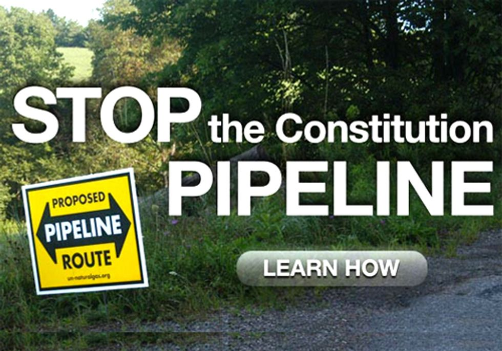 Mayor and Residents Speak Out Against Constitution Pipeline